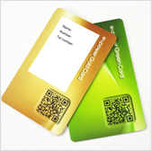 rewritable surface cards